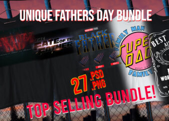 Fathers Day / Dia De El Padre / Super Dad / Papa / Father / Black Dad / Black Father / African American Dad/ Bundle Top Designs