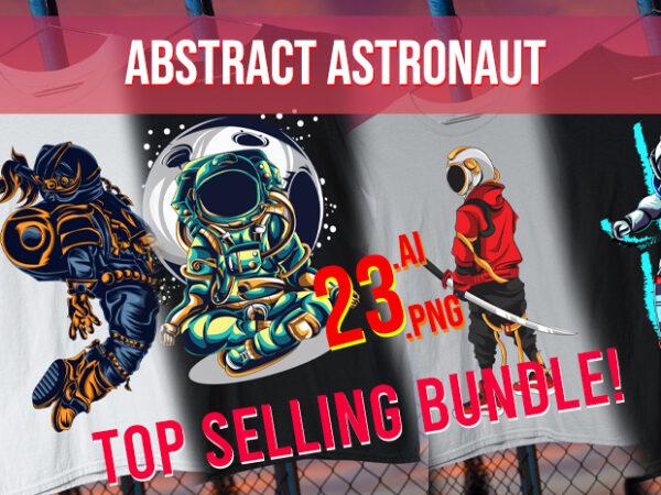 Abstract Astronaut / Space / Interstellar / Space Man / Moon / Aliens/ Man on Moon/ Galaxy / Galactic/ Space Travel / Best Seller Top Trending t shirt vector