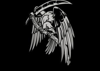 Vulture Reaper Team T-Shirt Design