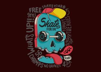 Skate Skull FreeStyle