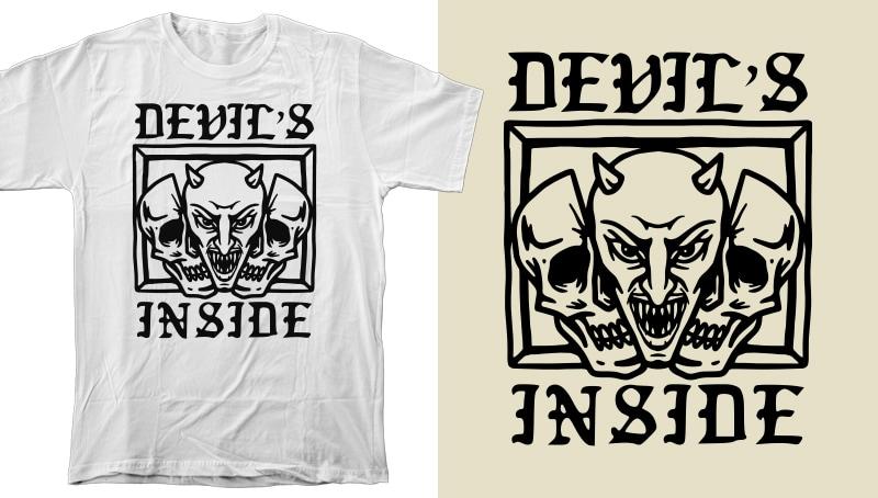 40 Skulls & Skeletons Design / Tattoo Art