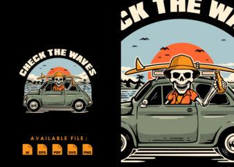 Skull Trip tshirt design