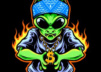 Alien hipster