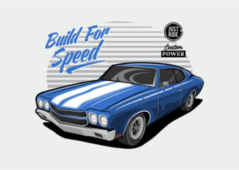 Classic Car – Build For Speed