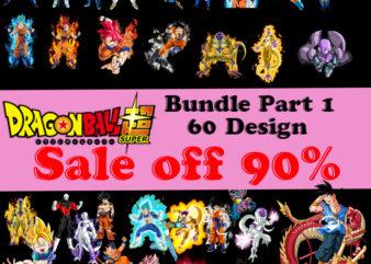 Dragonball Super Bundle, Anime PNG, Son Goku PNG, Beerus PNG, Whis Png, Frieza PNG, Vegeta PNG, Majin Buu PNG, Jiren PNG Digital Download, Instant Download