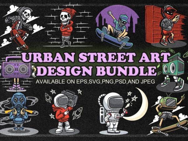 URBAN STREET ART DESIGN BUNDLE