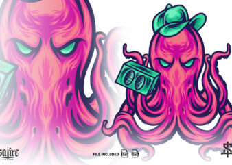 The Rapper Octopus Animal