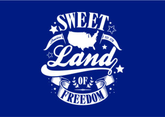 Sweet Land Of Freedom – American Typography