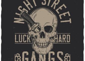 Night street gangs