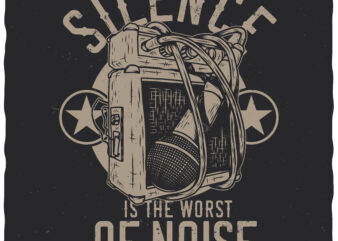 Silence is the worst of noise
