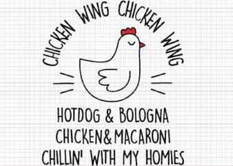 Chicken Wing Chicken Wing Hot Dog & Bologna svg, Chicken Wing Chicken Wing Hot Dog, Chicken Wing svg, Chicken svg, chicken vector, eps, dxf file