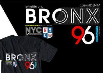 bronx urban street t shirt design, urban style t shirt design,urban city t shirt design,