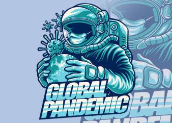 global pandemic t-shirt design