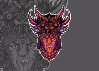 BAT GODDESS T-shirt Design