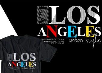 los angles urban street t shirt design, urban style t shirt design,urban city t shirt design,