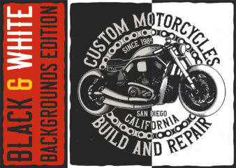 Custom motorcycles build and repair