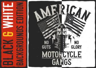 American motorcycle gangs
