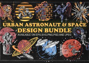 URBAN ASTRONAUT & SPACE DESIGN BUNDLE