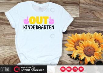 Out kindergarten SVG DESIGN,CUT FILE DESIGN