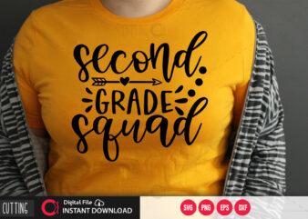 Second grade squad SVG DESIGN,CUT FILE DESIGN