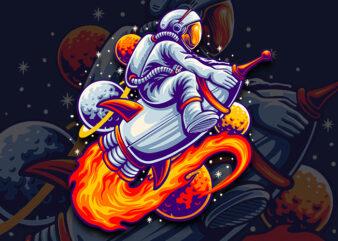 space tour t-shirt design