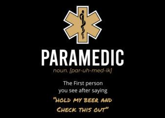 Paramedic Noun