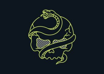 Death Snake and Skull