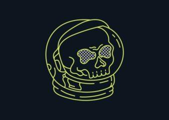 Astronaut Skull of Space