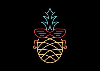 Summer Punk Pineapple
