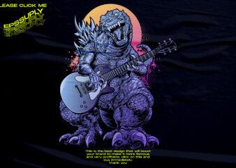 monster kaiju retro vaporwave