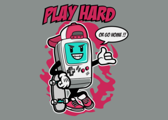 PLAY HARD GAMER