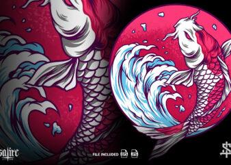 The Koi Fish Japan