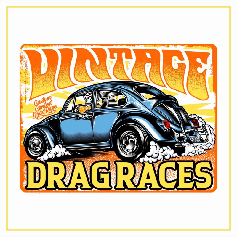 BIKERS, ROCKABILLY, VINTAGE RACE BUNDLE vol 4