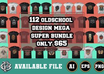 112 oldschool design mega bundle