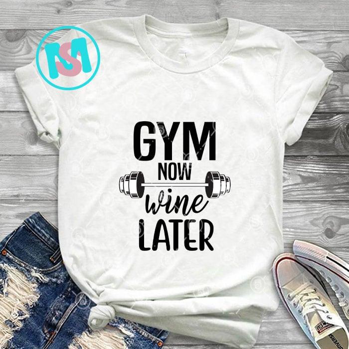 60 Gym Bundle SVG, Gym Bundle, Gym Silhouette, Gym Clipart, Instant Download, Cut Files For Cricut, Health, Gym Svg Dxf Esp Png