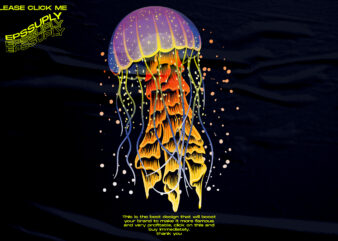 jellyfish retro vaporwave