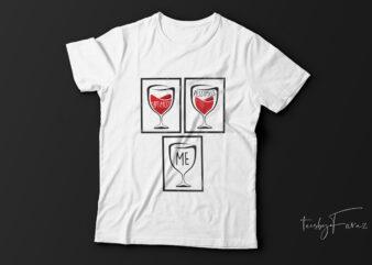 Optimist| pessimist| t-shirt design for sale.