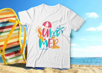 Summer| cool t-shirt design for sale.