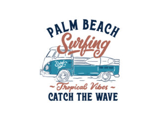 palm beach surfing