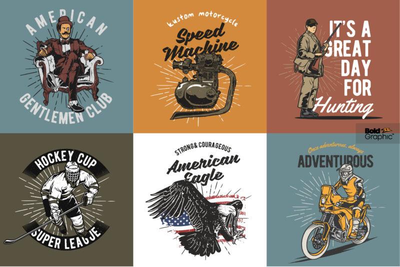 100 Vintage design collection