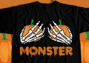 Monster T-Shirt Design