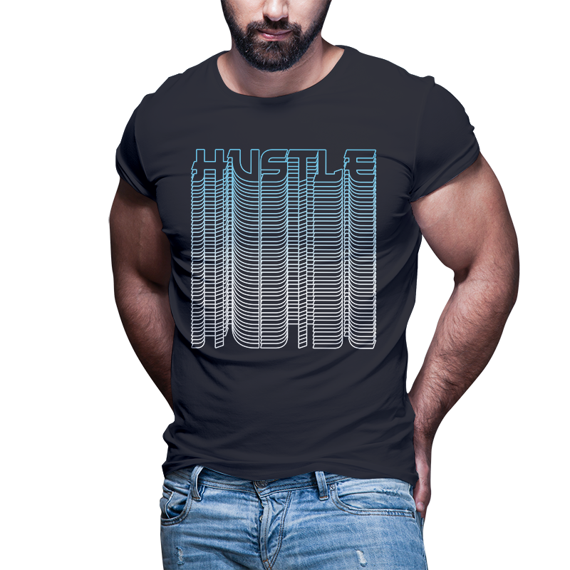 50 Hustle tshirt designs bundle