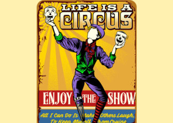 LIFE IS A CIRCUS QUOTES SIGNS