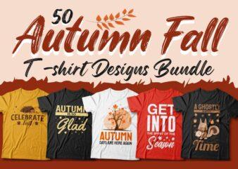 Autumn quotes t-shirt designs bundle, Autumn sublimation bundle, Autumn fall season, T shirt design for POD, Positive vibes,
