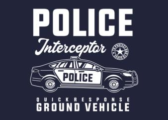 POLICE CAR INTERCEPTOR