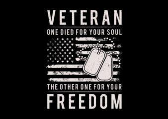 Veteran Quotes t shirt design, Veteran svg, Veteran png, Veteran shirt design, Veteran quote t shirt design, Veteran t shirt design for commercial use