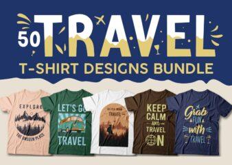 Travel t-shirt designs bundle, Travel quotes, Travel sublimation bundle, Adventure, Travel more,