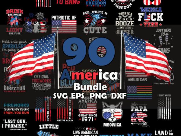 America Bundle SVG, 4th of July SVG Bundle SVG, Cricut File, USA Flag Svg, Independence Day, Patriotic Svg, 4th of July Svg Bundle, America Svg, July 4th Svg t shirt vector