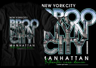 brooklyn new york city t shirt design