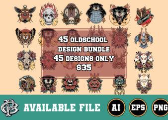 45 oldschool design special bundle
